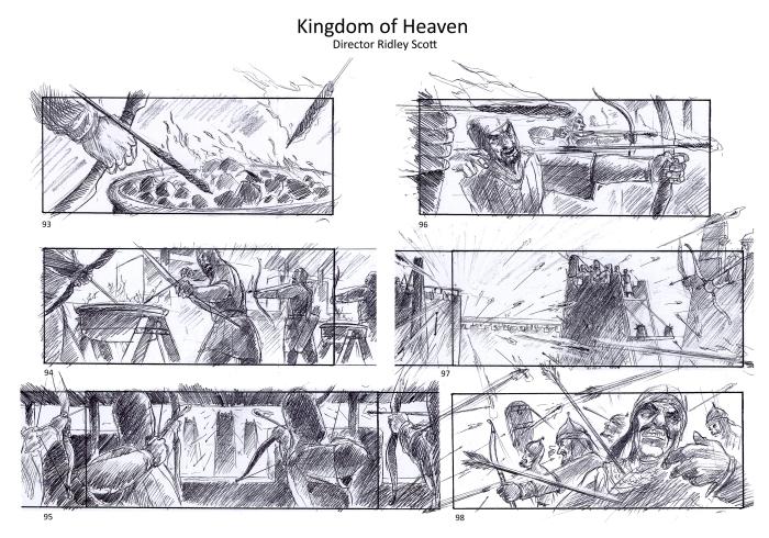 storyboard kingdom of heaven